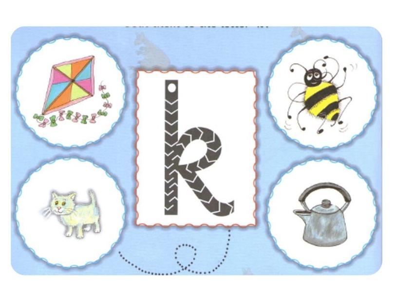 letter K Jolly Phonics by Vanessa Abdala