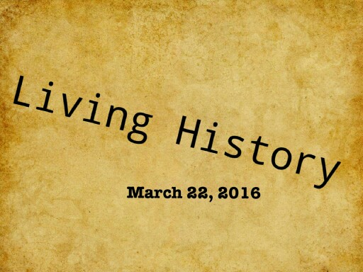living history 2016 by Cristina Chesser