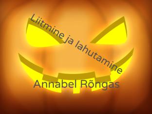 matemaatika by Annabel Rõngas