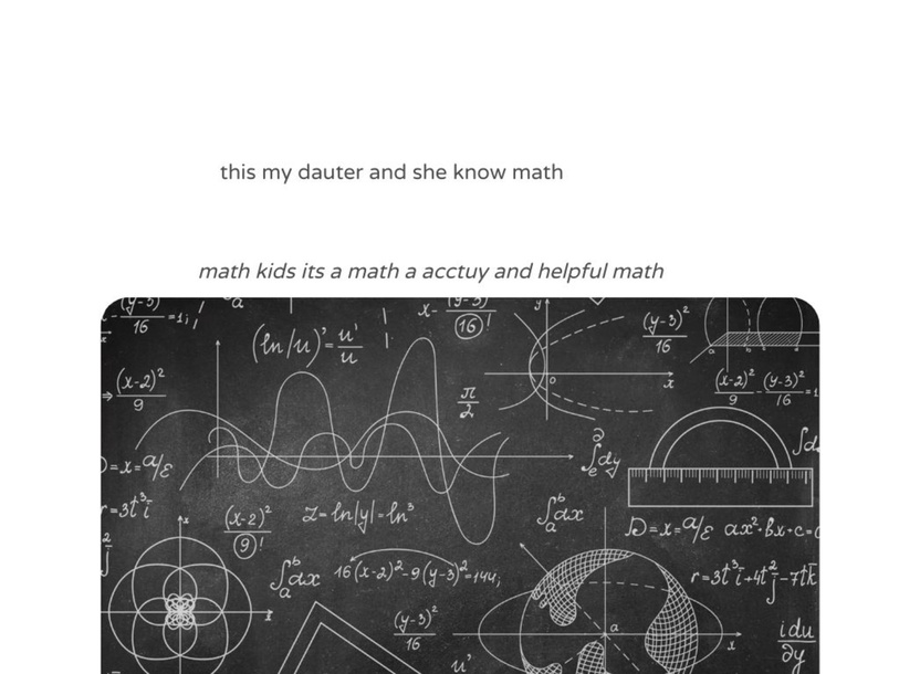 math kids  by KenaJae Williams