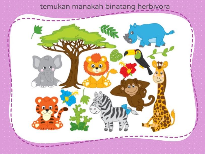 mengenal binatang herbivora by Berit Purba