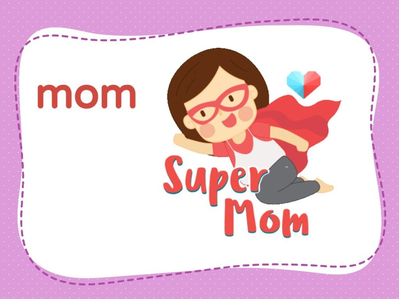 mom dad letter A by Dung Tran