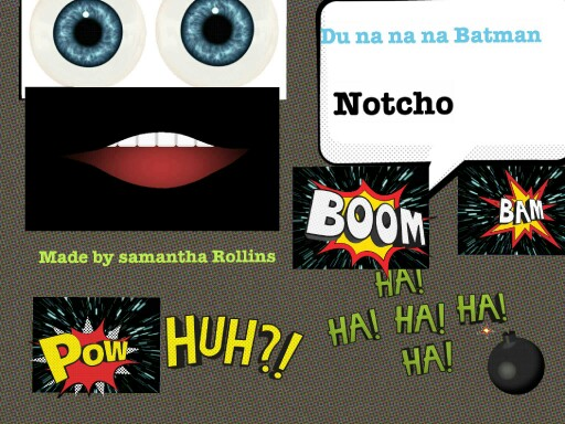 notcho by Samantha Rollins