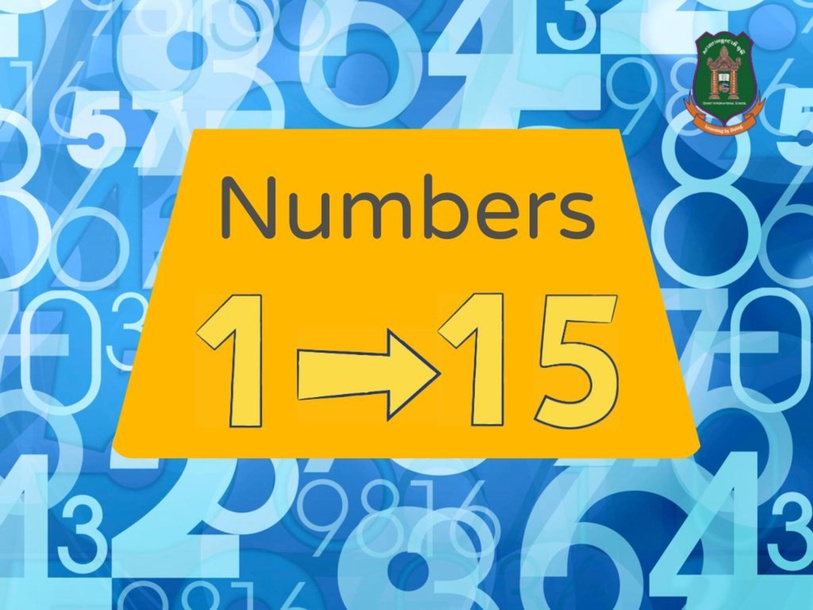 numbers 1-15 by Donnah Rose Canonoy