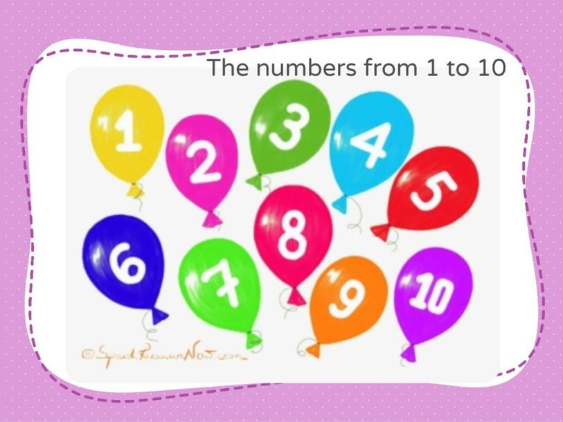 numbers from 1 to 10 by Giuliana Alayo Casas