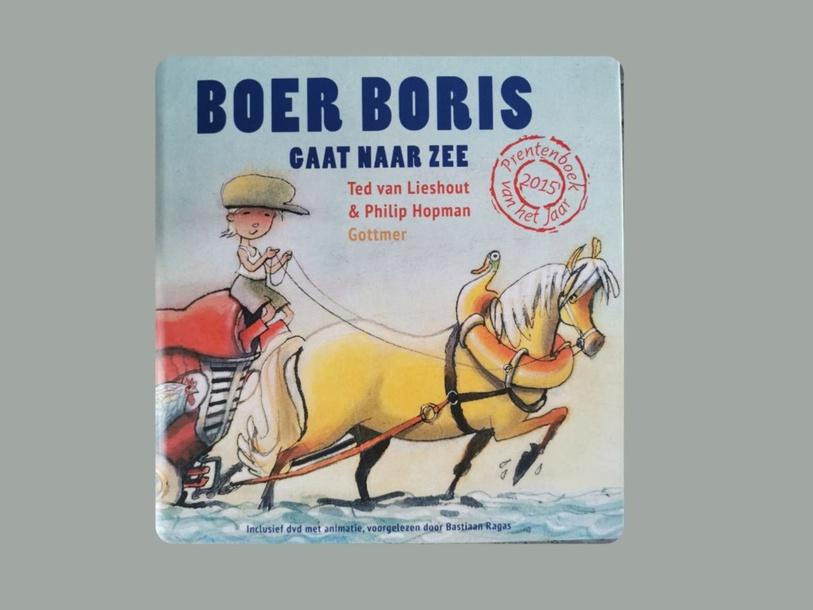 passieve woordenschat bij het boekje Boer Boris gaat naar zee by Marian van Roosmalen