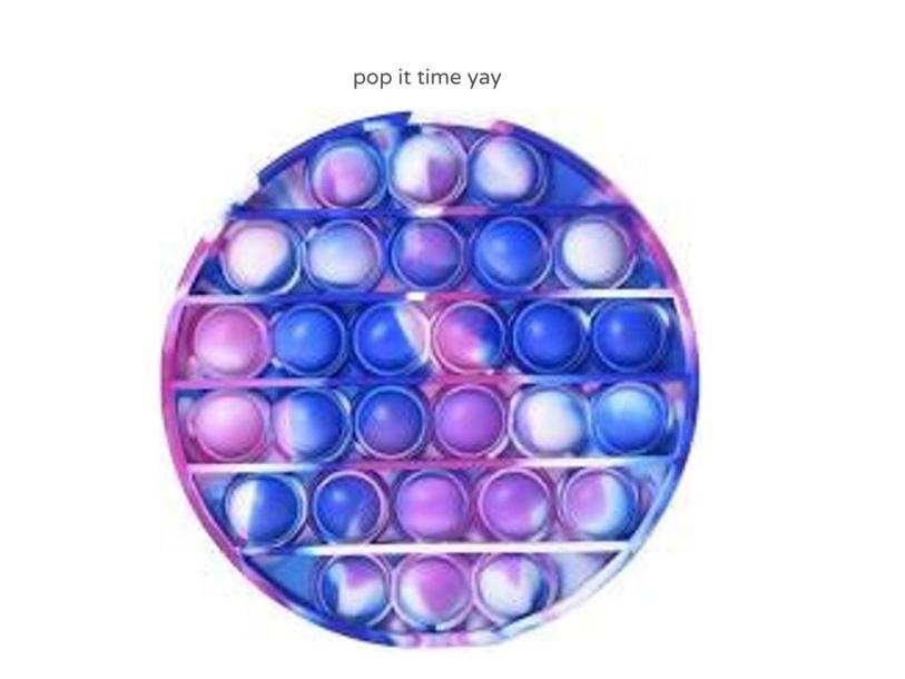 pop it time by Celine Vahanian