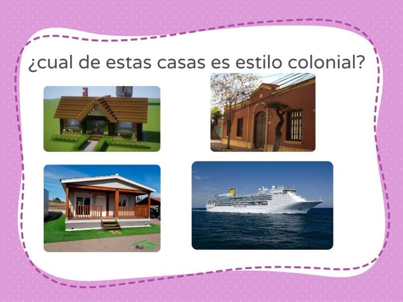 ¿que casa tiene un estilo colonial? by Leonardo Herroz Castro