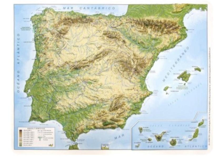 relieve españa by Alejandro Jorge Gutiérrez