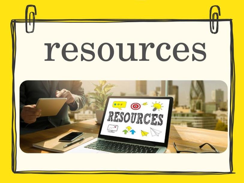resources  by عائشة الخزيمي