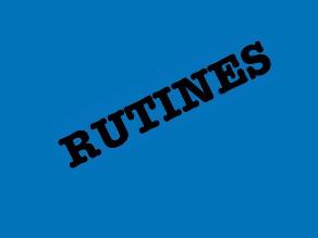 rutines by Patricia Moya Castillo