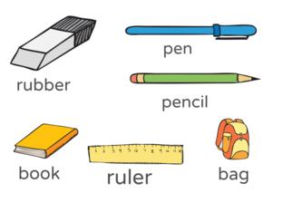 school supplies by Kate Utkina