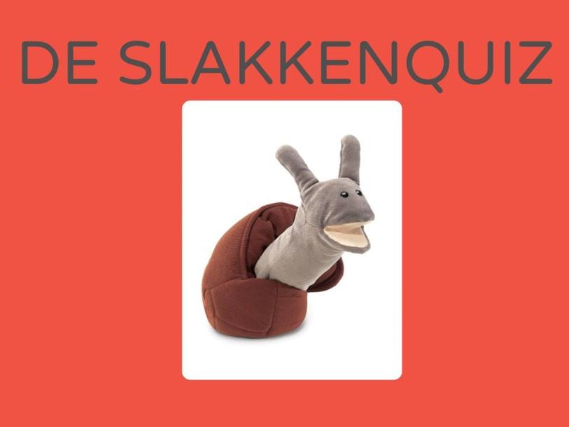 slakkenquiz by Juf ALISHA