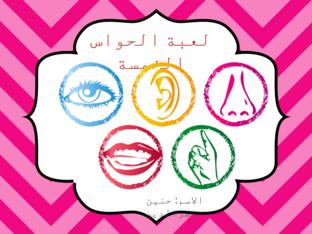 the five senses game by Hanin Nasser. Eddin