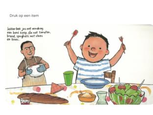 thema eten woordenschat by Elke Fioole