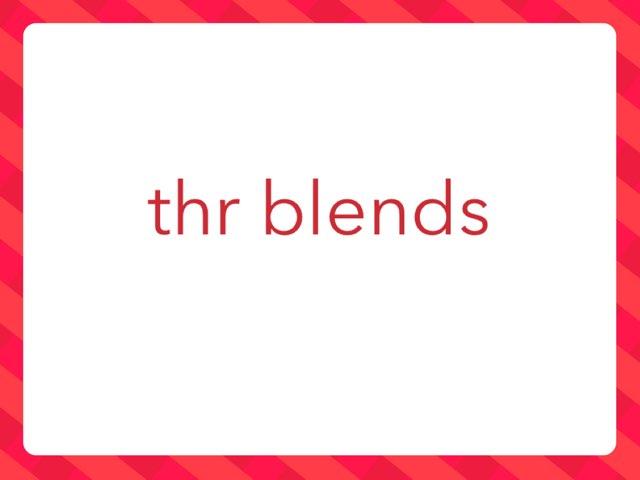 thr blends by Leslee DuPertuis