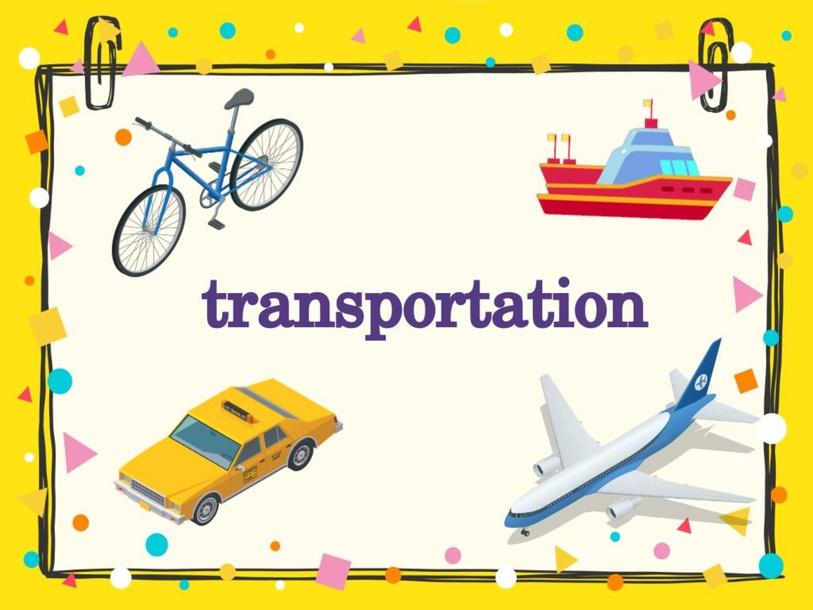 transportation- 5 kinder by VIR ZEG
