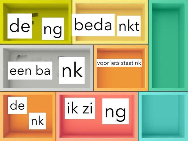 woorden met nk ng of nkt by Liese Calleeuw